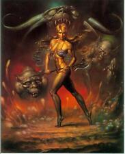 Boris Vallejo postercard: alpnu (estados unidos, 1992)