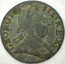 1775 Great Britain Half Penny VF Very Fine Copper Half Cent UK Coin K17