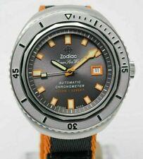 ZODIAC SUPER SEAWOLF 68 LIMITED EDITION 50th ANNIVERSARY WATCH FULL SET ! ZO9507