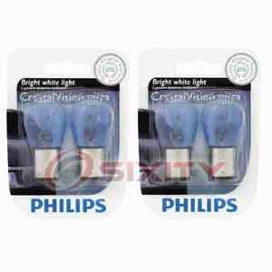 2 pc Philips Tail Light Bulbs for Sunbeam Arrow 1967-1970 Electrical yf