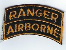 Patch - Ranger-Airborne Tab (one piece) Full color