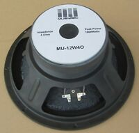 "1600Watts Raw Replacement 12"" SubWoofer Speaker 4Ohms Passive/Active Speakers DJ"