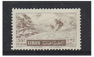 Lebanon - 1955, 35p Air stamp - L/M - SG 523