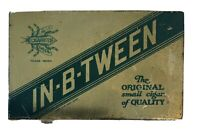 Vintage IN-B-TWEEN Cigarritos Empty Tobacco Tin. Good condition.