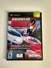 Burnout 2: Point of Impact -- Developer's Cut (Microsoft Xbox, 2003) - Pre-owned