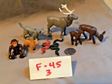 Playmobil Forest Animals Elk Deer Monkey Wolf Panther/Cougar Snake Lot (F-45)
