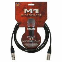 Klotz M1 Basic Mikrofonkabel 7,5 Meter Xlr-Xlr Neutrik-Stecker