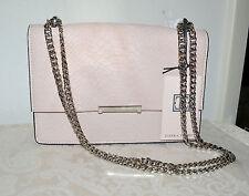 NWT $195 IVANKA TRUMP Mara Leather Cocktail Chain Purse Shoulder Bag BLUSH