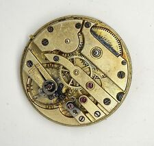 SWISS LEVER HIGH GRADE FOB WATCH MOVEMENT SPARES OR REPAIRS S270