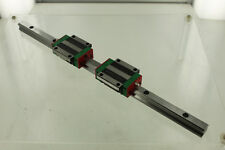 HIWIN HGW15CC 1303EK-6B LINEAR MOTION GUIDE & HGR15P 1308TS-10 LINEAR RAIL GUIDE