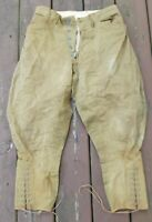 Original WW1 WWI US Army Military AEF Issue Wool Uniform Pants Trousers