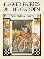 Flower Fairies of the Garden, Very Good Condition Book, Barker, Cicely Mary, ISB