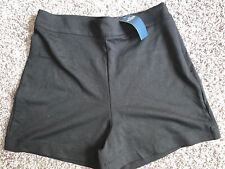 NWT Junior's Hollister Ultra High Rise Fancy Shorts Size Medium M Black New Tags