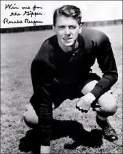Ronald Reagan Autographed Repro Photo 8X10 - Gipper President