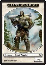 2x TOKEN Guerriero Gigante 5/5 - Giant Warrior 5/5 MAGIC MM Modern Masters Eng