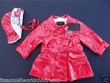 baby girl RAINCOAT & HAT by CATIMINI waterproof 6M (eu67) BNWT