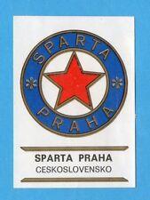 FOOTBALL CLUBS-PANINI 1975-Figurina n.57-SPARTA PRAHA CECOSLOVACCHIA-SCUDETTO-Re