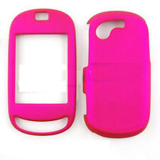 Samsung Gravity T T669 Rubberized Hard Case Phone Cover Rubber Hot Pink
