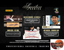 KANSAS CITY ROYALS 2012 Signature Series BASEBALL Hobby 1BOX Break