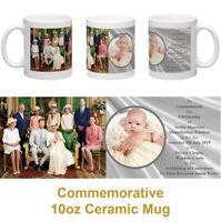 Archie Harrison Mountbatten-Windsor commemorative christening 10oz ceramic mug