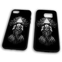 Viking Roots Warrior Mythology Runes Norse Gods Odin Rubber TPU Phone Case Cover