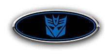 Ford EXPLORER 2011-2017 Transformer Custom Overlay Decals FRONT & REAR BLK/BLUE