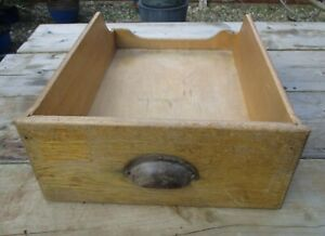 Vintage Retro Wooden Shop Haberdashery Drawer - Display Item   No 2