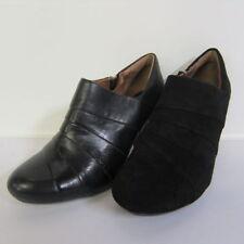 Clarks Patternless Standard (D) Width Cuban Heels for Women
