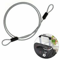 Steel Lock Wire Super Durable Strong Bike Motorcycle Electric Scooter Anti Theft