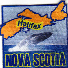 """HALIFAX NOVA SCOTIA""  Iron On Printed Patch Capital City Canada Canadian"