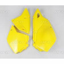 UFO Suzuki Enduro Side Panels DRZ 400E 2001 - 2017 Yellow
