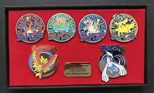 Pocket Monsters Millennium Badge 2000 Pins Pokemon Japan Charizard Pikachu etc.