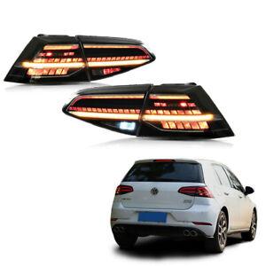 LED Feu arrière pour VW Golf 7 MK7 VII 2013-2017 feux arrière avec séquentiel