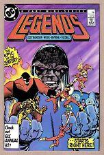 Legends #1 Darkseid Amanda Waller Dead Shot John Byrne HI GRADE Suicide Squad