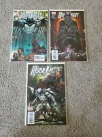 MOON KNIGHT #3-5 (2006) MARVEL CHARLIE HUSTON! DAVID FINCH ART! TASKMASTER