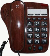 Lexibook DPC281FRB analog Telefon großen Tasten Seniorentelefon Großtastenten