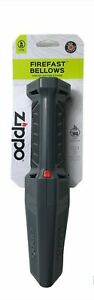 Zippo Fire Starter FireFast Bellows 40488 Forced Air Battery Operated New