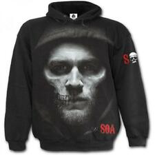 Sons of Anarchy Jax Hooded Sweatshirt Black L