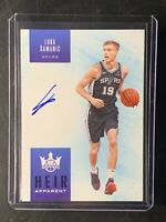 2019-20 court kings Luka Samanic Heir Apparent rookie Autograph sapphire 23/25!