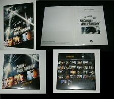 Original SKY CAPTAIN & THE WORLD OF TOMORROW CD ROM PRESS KIT 38 Pages
