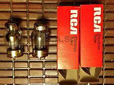 VACUUM TUBES - 6550 SYLVANIA/RCA W BOXES - MATCHED PAIR - TESTED!  GUARANTEED!