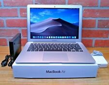 """ULTRA Apple MacBook Air 13"""" / 3.2GHz i7 / MAX 8GB RAM / 2017-2018 / 256GB SSD"""