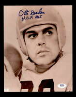Otto Graham HOF 1965 PSA DNA Coa Signed 8x10 Autograph Photo