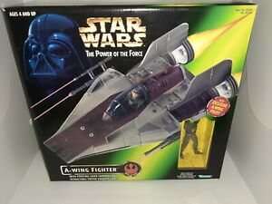 Star Wars POTF A-wing Fighter MISB FREE SHIPPING