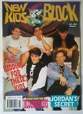 NEW KIDS ON THE BLOCK MAGAZINE 90'S POP.DONNIE WAHLBERG. JORDAN KNIGHT.