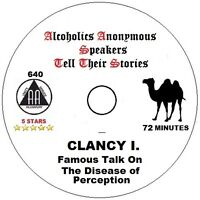 Alcoholics Anonymous AA Speaker CD - Clancy I. A Disease of Perception