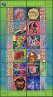 Australia 1998 SG1770-1781 Rock And Roll sheetlet of 12 MNH