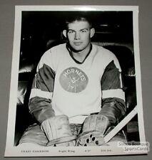Original 1965-66 Pittsburgh Hornets Craig Cameron Photo
