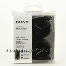Sony ZX Series MDR-ZX310AP Foldable Headband Stereo Headset w/Mic (Black) NEW