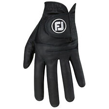 FootJoy Mens Weathersof LEFT Hand Golf Glove - FJ Leather Right Handed Player
